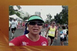 Apresentadores da TV Cabo Branco participam da Meia Maratona Internacional do Rio - Edilane Araújo e Hildebrando Neto contam como foi a experiência de participar da prova.