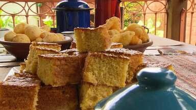 Chef ensina a preparar broa de fubá - Prato é feito pela renomada chef mineira Beth Beltrão.