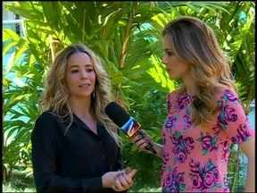 Danielle Winits fala do sucesso do visual de Amarylis, em 'Amor' - Em entrevista a Ana Furtado, atriz conta os segredinhos da personagem
