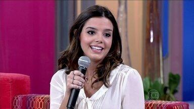Giovanna Lancellotti sobre dieta: 'Às vezes, eu me saboto' - Atriz conta que faz dieta desde sempre