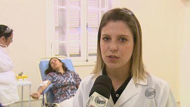 Campanha incentiva mulheres a doarem sangue em Rio Claro, SP - Campanha incentiva mulheres a doarem sangue em Rio Claro, SP.