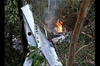 Corpo de piloto de avião que caiu em Belém é identificado - Dois corpos ainda não foram identificados.