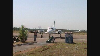 Aeroporto de Vilhena está em reformas há cerca de um ano - Nos últimos dias, diversos voos foram cancelados. O desenvolvimento da regiãtambém estaria ligado ao desempenho doa Aeroporto.