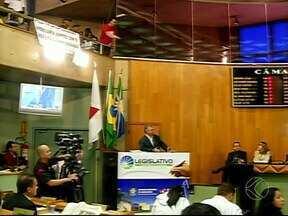 Secretário de Finanças explica projeto de reajuste de valores do IPTU em Uberlândia - Vitorino Alves compareceu a Câmara para dar informações a respeito da proposta.