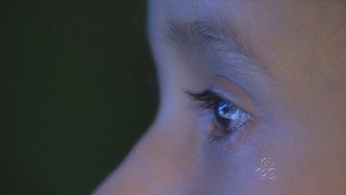 Catarata é uma das principais causas de cegueira infantil - A doença é mais comum em idosos, mas também pode afetar crianças.