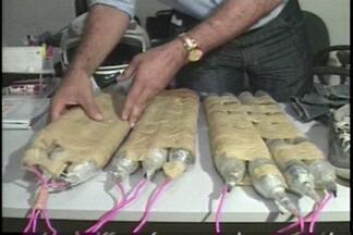 JPB2JP: Bananas de dinamite foram apreendidas em Junco do Seridó - Houve troca de tiros entre bandidos e policiais.