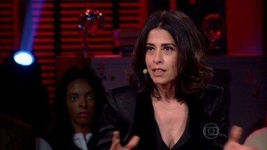 Fernanda Torres entrega que medo nãoa deixa dormir - Atriz conta que está escrevendo um filme de terror