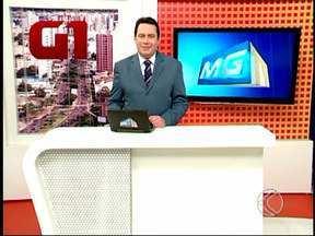 Confira os destaques do MGTV 1ª edição desta sexta em Uberlândia e região - Um caminhão bateu na proteção de um ponto de táxi da Praça Tubal Vilela em Uberlândia. A estrutura desabou em cima do caminhão.