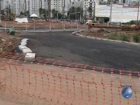 Entrada do bairro do Imbuí será interditada neste fim de semana por causa de obra - A interdição começa à meia noite de sábado e vai até às cinco da manhã de segunda.
