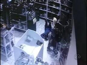 Homem que furtava se arrastando pelo chão é preso em Concórdia - Homem que furtava se arrastando pelo chão é preso em Concórdia