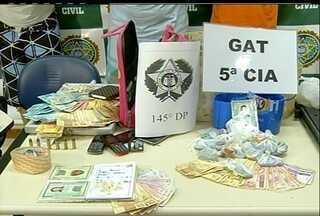 Operação cumpre mandados de busca e apreensão no Norte do RJ - A polícia deteve oito suspeitos por tráfico em São João da Barra.O resultado foi apresentado nesta manhã na 145ª DP.