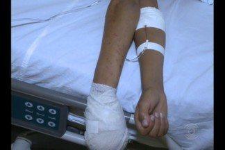 Menino de 12 anos é atingido com tiro acidental enquanto caçava na Paraíba - Garoto perdeu dois dedos da mão.