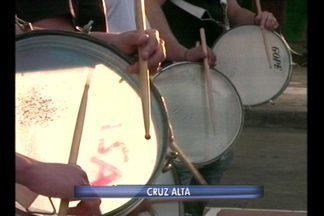 Escolas públicas se preparam para o desfile de 7 de setembro - As bandas marciais ensaiaram no fim da tarde.