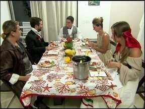 Jogo de Panelas: reveja os melhores momentos do jantar italiano do Luigi - Ana Maria mostra os detalhes que marcaram a recepção no morro do Vidgal