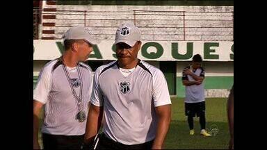 Ceará encerra preparação para encarar Paysandu - Vovô tenta sua primeira vitória fora de casa nesta Série B.