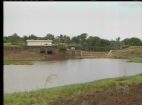 Represa Lago Azul, em Araguaína, continua vazia - Represa Lago Azul, em Araguaína, continua vazia