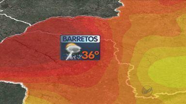 Previsão do tempo – 21/09/2013 – Ribeirão Preto e região - Primavera começa com tempo instável com chegada de frente fria.
