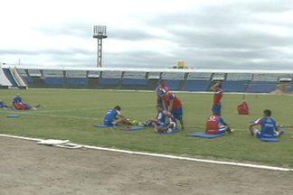 Fortaleza treinou nesse sábado em Campina Grande - Veja como foi o treino do líder do grupo A, que vai enfrentar o Treze pela Série C.