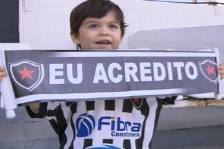 JPB2JP: O Botafogo está a um passo da Série C - Kako Marques mostra como foi o último treino do time em Fortaleza.