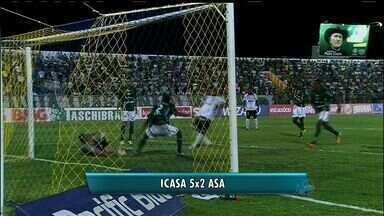 O Icasa goleou o Asa de Alagoas neste sábado - Com placar de 5 a 2, o Icasa está mais perto do G-4.