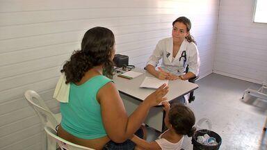 Moradores do Bairro Pedra 90, em Cuiabá, participam do Projeto Multiação - Um mutirão da cidadania realizado numa parceria entre TV Centro América e a Federação das Indústrias de Mato Grosso.