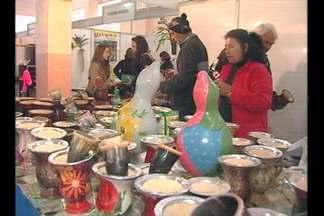 Mesmo com a chuva muita gente visitou a Feicat, em Catuípe - A feira comercial e industrial segue até domingo.