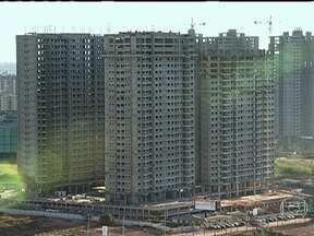 Número de estoques imobiliários aumentou nos últimos cinco anos - Em 2013, há mais de 19 mil apartamentos novos esperando por compradores em São Paulo. No Rio de janeiro, 6,6 mil imóveis novos estão vazios.