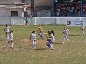 De virada, Pinheirense-PA vence Tiradentes-PI por 4 a 1 em Belém - Com três gols de Irley, time paraense assume a vice-liderança do Grupo 4 da Copa do Brasil de futebol feminino, com três pontos