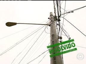 RJ Móvel mostra promessa cumprida em Santa Cruz - Os moradores do loteamento Sagrado Coração, comemoram a instalação da iluminação pública e a troca dos postes da região. Eles pediam as melhorias há cinco anos.