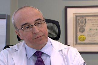 Endocrinologista fala sobre doenças relacionadas à obesidade - Márcio Mancini, chefe do grupo de obesidade da endocrinologia do HC, explica que doenças como insuficiência cardíaca e asma têm relação com obesidade.