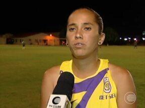 Rayssa se destaca no ataque do Tiradentes e é artilheira do clube - Rayssa se destaca no ataque do Tiradentes e chama a atenção no brasileirão
