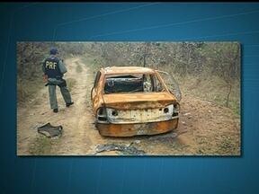 Polícia Rodoviária Federal descobre desmanche de veículos na zona rural de Luziânia - Com a ajuda de um helicóptero, a Polícia Rodoviária Federal localizou uma área de desmanche na zona rural de Luziânia. A operação contou com a ajuda da Polícia Militar de Minas Gerais e do Goiás.