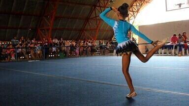Ginasta Yasmin Torres se apresenta em Torneio de Novos Talentos, em Manaus - Acompanhe a apresetação da ginasta Yasmin Torres, neste sábado, em Manaus.