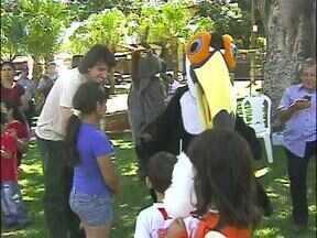 Terminou com festa as atividades do ParanáTV Comunidade no bairro Morumbi - As atividades foram realizadas na Praça Sete de Setembro.