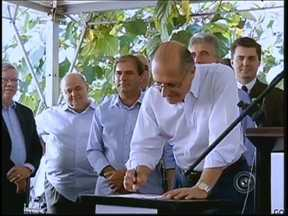 Alckmin anuncia investimentos na saúde e em rodovias do Centro-Oeste - Na saúde pública, o governador disse que estuda a construção de um novo hospital em Bauru para atender a demanda crescente por leitos de internação e Unidade de Terapia Intensiva (UTI).