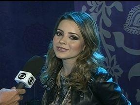Sandy se apresenta neste sábado (19), em Brasília - Esse é o segundo show na turnê da cantora. A artista se apresenta a partir das 21h na Arena Brasília, no Distrito Federal.