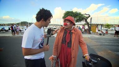 Timbó confere a nona edição do Festival de Artistas de Rua - Ele foi até o bairro da Ribeira conhecer esses gloriosos artistas