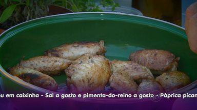 Receita de frango com iogurte é dica saudável do Prato Feito - Fernando Kassab ensina prato para quem gosta de carne branca