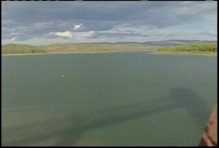 Barragem de Juramento atinge nível preocupante depois de 31 anos - Barragem é responsável por 65% do abastecimento de água de Montes Claros.