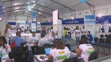 Feirão no Recife ajuda endividados a limpar o nome - A tenda foi montada no Parque 13 de maio, no centro da capital.