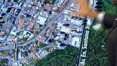 Desvios no trânsito para obras de viadutos no Cocó começam na quarta-feira - Entenda os desvios e como evitar o transtorno.