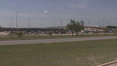 Novo estacionamento do Aeroporto de Manaus será parcialmente liberado - Embarque e desembarque de passageiros também terão mudanças.