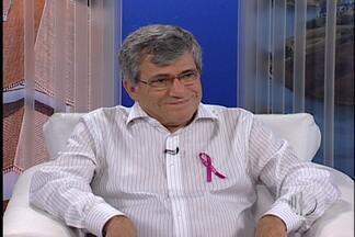 Veja os exames preventivos contra o câncer disponíveis na rede pública em Mogi - O secretário de Saúde de Mogi das Cruzes, Paulo Villas Bôas de Carvalho, fala sobre os serviços preventivos contra o câncer de mama disponíveis na rede pública.