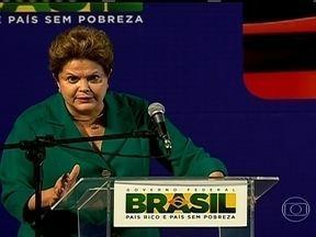Dilma Rousseff anuncia investimentos para melhorar o transporte público em São Paulo - A presidente anunciou nesta sexta-feira (25) que vai liberar R$ 5,4 bilhões para melhorar o transporte público na Região Metropolitana de São Paulo.