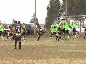 A paixão pelo futebol amador (parte 2) - Comunidades rurais perto de Toledo mantêm a tradição dos campeonatos amadores, disputados por veteranos e jovens agricultores.