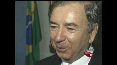STJ inocenta ex-governador do ES por gestão temerária - Segundo MP, José Ignácio havia feito empréstimo para financiar campanha.Superior Tribunal de Justiça afirma que transação foi feita nas normas.