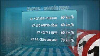 Confira onde estão os radares em Ribeirão Preto nesta terça-feira - Fiscalização móvel ocorre nas avenidas Constabile Romano, Luiz Galvão Cesar e Marechal Costa e Silva.