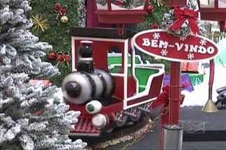 Em Imperatriz, lojistas já estão se preparando para período natalino - Itens de decoração natalina já são vistos à venda