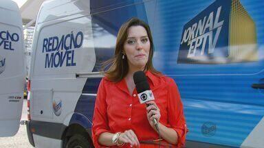 Redação Móvel continua ouvindo telespectadores em Pouso Alegre (MG) nesta terça-feira - Redação Móvel continua ouvindo telespectadores em Pouso Alegre (MG) nesta terça-feira