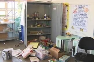 Creche é assaltada na madrugada desta terça no bairro de Pituaçu - Foram roubados material de limpeza, de higiene e equipamento, como aparelho de som, cafeteira e ventilador.